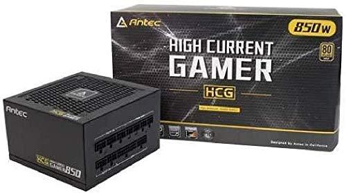 ANTEC HCG-850-GOLD - Alimentatore Completamente Modulare da 850W, Nero
