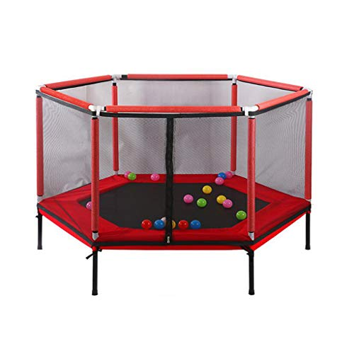 Indoor Mini Trampoline vangnetten Enclosure Net Pad Rebounder Buiten Buiten Oefening Home Games bed springen Baby Kinderen Care Fence