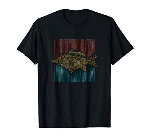 Hobby Angler | Fischen Fischer | Fisch Karpfen T-Shirt