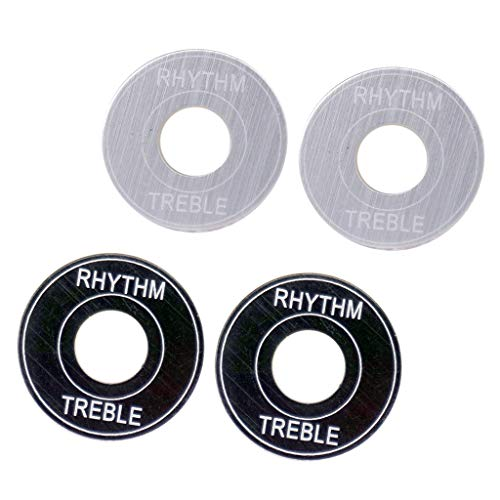 4x 3-way Switch Toggle Washers Anillos Para Les Paul LP Guitarra Eléctrica