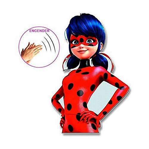 Lampe Veilleuse Miraculous Ladybug Disney Enfant