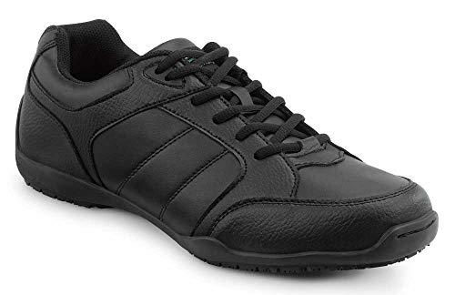 SR MAX SRM600 Rialto Women's Black Slip Resistant Athletic Sneaker - 11.0 M