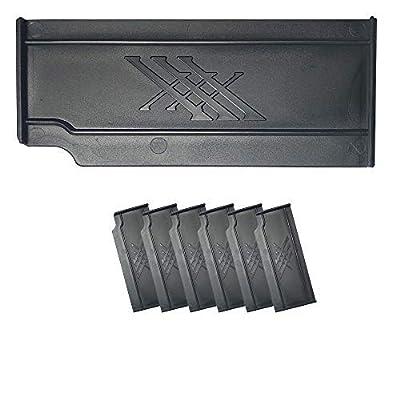 Fishing Evolution Kit de 6 separadores Black X Top Boxxx Evo