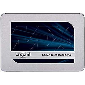 Crucial SSD 1000GB MX500 内蔵2.5インチ 7mm MX500 (9.5mmスペーサー付属) 5年保証 【PlayStation4 動作確認済】 正規代理店保証品 CT1000MX500SSD1/JP