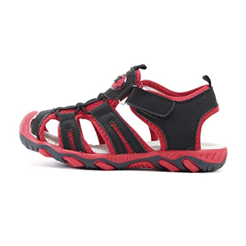 Sandalias de Verano para niños, Transpirables, Planas, para el Suelo, para la Playa, para el Aire Libre, para Hacer Deporte