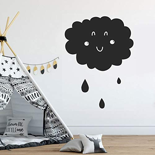 zhuziji Film Quotes Wall Stickers Percy, Cute Cloud Kindergarten Baby PVC Household Waterproof Children. Living Room. Bedroom Wall Sticke72x57cm