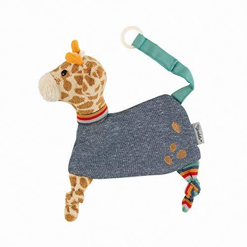 Sterntaler Schmusetuch Kuschelzoo, Giraffe Greta, Alter: Für Babys ab dem 1. Monat, Größe: 22 cm, Farbe: Bunt