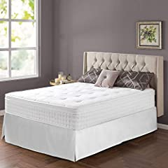 SmartBase bed frame is 14 inches high with 12.5 inches of clearance under the frame for valuable under-bed storage space Folding SmartBase design allows easy storage and movement through tight staircases and doorways, replacing a traditional box spri...