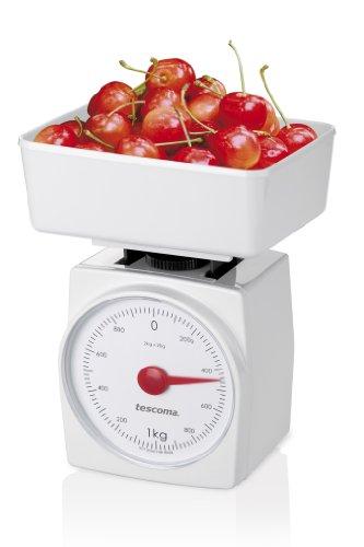 Tescoma Accura Bilancia da Cucina, Bianco, 2 kg