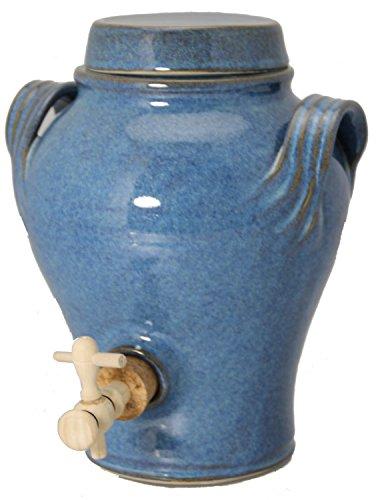 Bouchonnerie Jocondienne 135 Vinaigrier 3L Complet, Verre, Bleu, 24 x 24 x 32 cm
