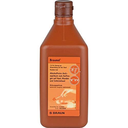 Braunol Lösung alkoholfreies Antiseptikum, 1000 ml Lösung