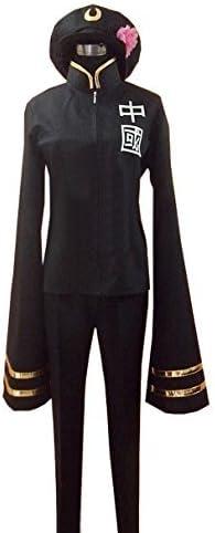 Dreamcosplay Anime Hetalia: Axis New life Powers Black Unifo Female China New Shipping Free Shipping