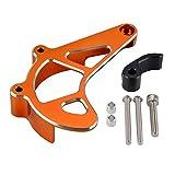NICECNC Carcasa de aluminio de color naranja, compatible con KTM 690 Enduro R & SMC R 2009-2021 690 SMC R 2019-2021 Husqv-701 Enduro & SM 2016-2021