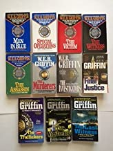 W.E.B. Griffin, Badge of Honor (Set of #1-11) Men In Blue; Special Operations; ... Last Witness
