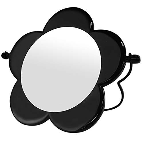 [ラッピング済み] ギフト プレゼント用 最適(マリークワント) MARY QUANT 鏡 ミラー 化粧 メイク コスメ デイジー 花 花柄 フラワー マリークヮント スタンド ミラー 黒 ブラック スタンドブランド