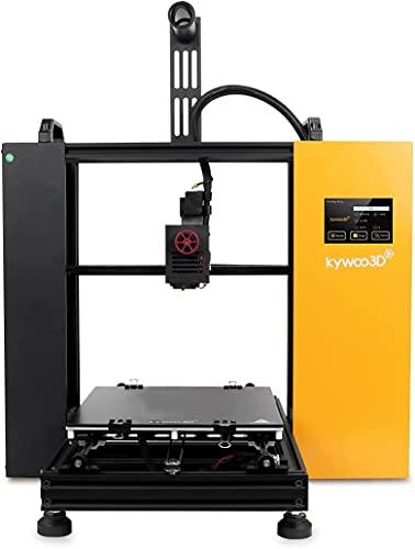 Stampante 3D Kywoo Tycoon, Printer 3D FDM Super Silenziosa, 3D Printer da Te con Livellamento Automatico e Funzione di Trasmissione WiFi,Scheda Madre 32 Bits e HD Touchscreen (240x240x230mm)