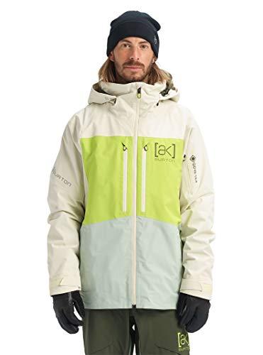 Burton Men's Ak Gore-tex Swash Jacket,  Almond Milk / Tender Shoots / Aqua Gray,  XX-Small
