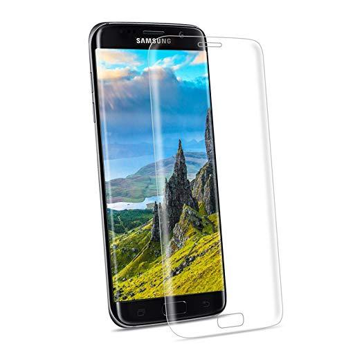 YIEASY Pellicola Vetro Protettivo per Samsung Galaxy S7 Edge,Senza Bolle 9H Durezza Vetro Temperato Resistente ai Graffi AntiGraffio Premium Pellicola Protettiva per Samsung S7 Edge[1 Pack]