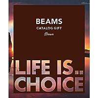 BEAMS CATALOG GIFT ビームスカタログギフト Brown ブラウン 10,000円コース 包装紙:レガロ