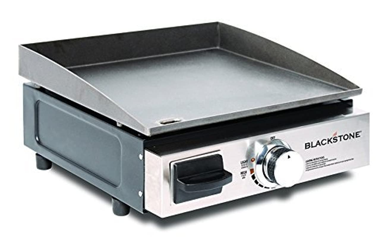Blackstone Table Top Grill - 17 Inch Portable Gas Griddle - Propane Fueled - For Outdoor Cooking While Camping, Tailgating or Picnicking yluzsjuvwvkl9