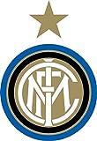 Adesivo squadra di calcio Inter Milano FC, per auto, alta qualità, 10 x 12 cm