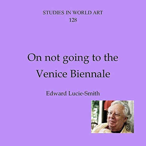 On Not Going to the Venice Biennale audiobook cover art