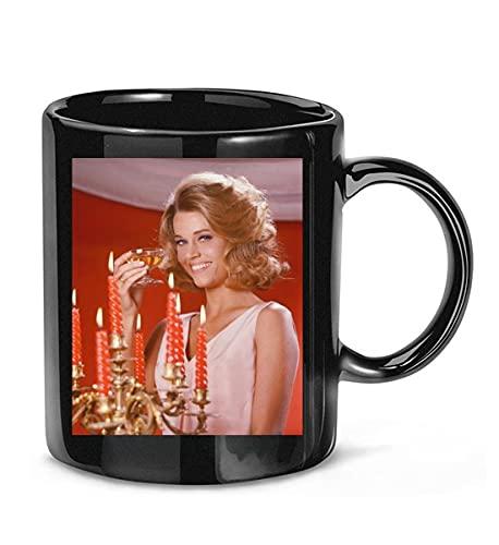 BIROTYMAKHI #Cat Ballou #Jane Fonda #Michael Callan Picture Coffee Mug for Women and Men Tea Cups