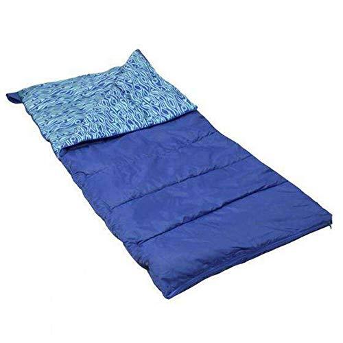 Polydaun Sac de couchage Beach House Unisexe Bleu 210 x 80 cm