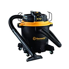 12 Gallon Polypropylene Tank 5.5 Peak HP Ultimate Performance Motor Integrated Hose Storage 20' Cord with Cord Wrap Easily Converts to Blower