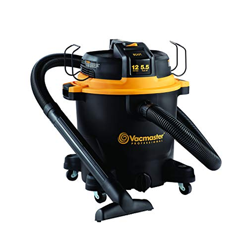 Vacmaster Professional - Professional Wet/Dry Vac, 12 Gallon, Beast Series, 5.5 HP 2-1/2' Hose (VJH1211PF0201)