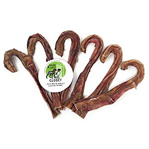 Sancho & Lola's Steer Sticks for Dogs Made in USA – Farmed in USA Odor-Free Beef Pizzle Dental Chews for Light Chewers, Great Alternative to Rawhide …