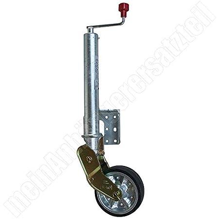 Al Ko Schwerlast Stützrad Bugrad Für Pkw Anhänger 200x50mm 300kg 500kg Auto