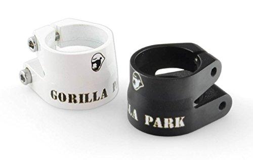 Gorilla Park - Abrazadera para tija de sillín, color negro