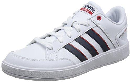 Adidas CF All Court, Zapatillas de Deporte Niño, Blanco (Ftwbla/Maruni/Escarl 000), 36 EU
