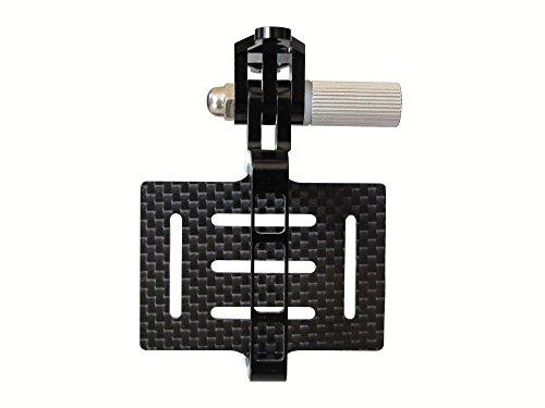 QWinOut Universal for Hero 2 3 3+ FPV Carbon Fiber Camera Mount Gimbal PTZ Compatible for dji Phantom Walkera QR X350 Quadcopter