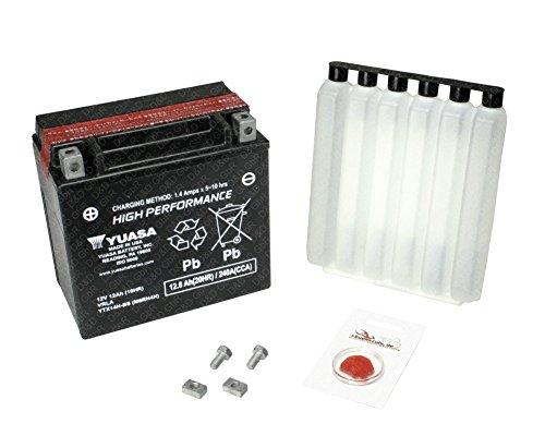 YUASA Batterie für Piaggio X8 125 Premium, 2007 (M36301), High Performance, inkl. Pfand €7,50