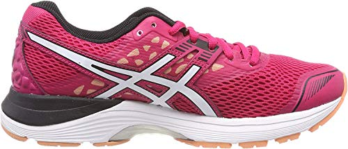 Asics Gel-Pulse 9, Zapatillas de Running para Mujer, Rosa (Bright Rose/White/Black 2101), 37 EU