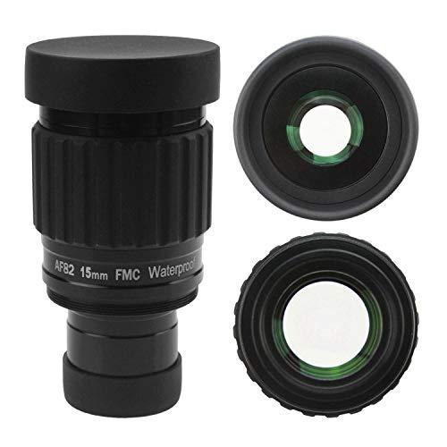 Astromania 1.25'-82 Degree SWA-15mm Compact Eyepiece, Waterproof & Fogproof...