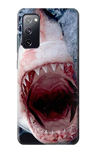 R1341 Jaws Shark Mouth Case Cover for Samsung Galaxy S20 FE