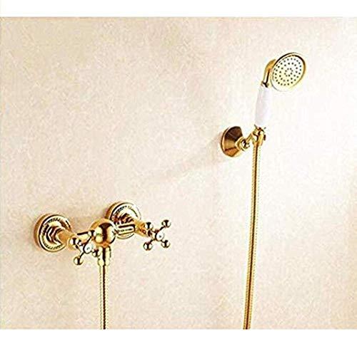 Makeyong Een Set van Douche Kraan Goud Badkamer Verdamper Inverter Badkamer Douche Kraan Mixer Hot Water Verwarming Badkamer