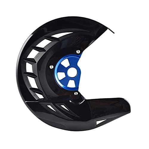 BENGANG Protector de Disco de Freno Delantero GAURD Ajuste para Husqvarna TE FE 125 250 300 350 449 450 480 501 2014 2015 para KTM Exc SXF SX XCF (Color : Black and Blue)
