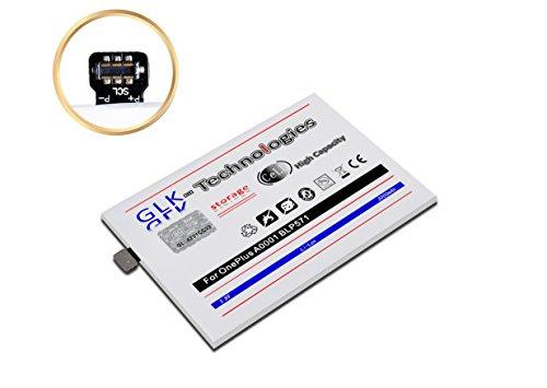 GLK-technologieën geld terug garantie - kopen zonder risico 2019 BJ MEGA batterij compatibel met OnePlus A0001 / One 1+ / BLP571 batterij 3000 mAh
