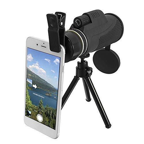 Best Prices! LIUFENGLONG Hiking Monocula 40x60 Monocular Ultra HD Optical Lens Low Light Night Visio...