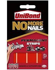 Unibond No More Nails paski klejące ultra duża pojemność 2,75 kg permanentne 10 sztuk przezroczystych