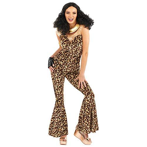 Fun Shack 90er Jahre Kostüm für Damen, Girlband Verkleidung, Sexy Faschingskostüm - XL