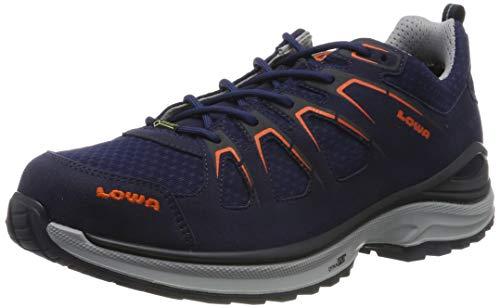 Lowa Herren Innox EVO GTX LO Trekking-& Wanderhalbschuhe, Blau (Navy/Fiamma 6957), 44.5 EU