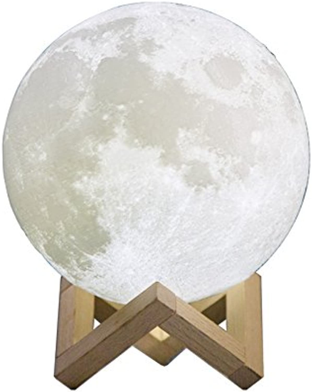 Shop 6 Nachtlicht Valentinstag Geschenk, 3D-Druck Mondlicht Mondlicht, Touch Led Nachtlicht, 14Cm