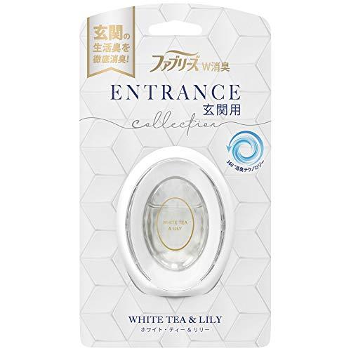 ファブリーズ 消臭芳香剤 W消臭 玄関用 ホワイト・ティー&リリー 7mL