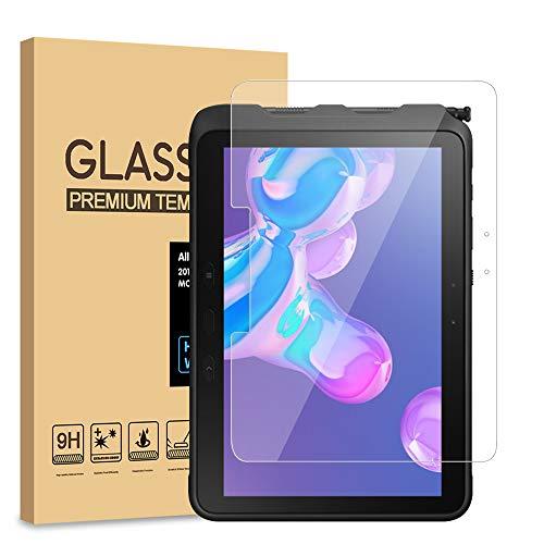 [2 Pack] PULEN Panzerglas Schutzfolie für Samsung Galaxy Tab Active Pro , 9H Glas Bildschirm schutzfolie [Anti-Kratzen] [Bubble-frei][Fingerabdruck-frei] HD Klar folie