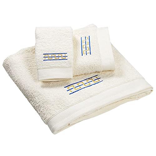 Westward Ho! 1133RB Destino - Juego de toallas (3 piezas, 1 unidad), color azul